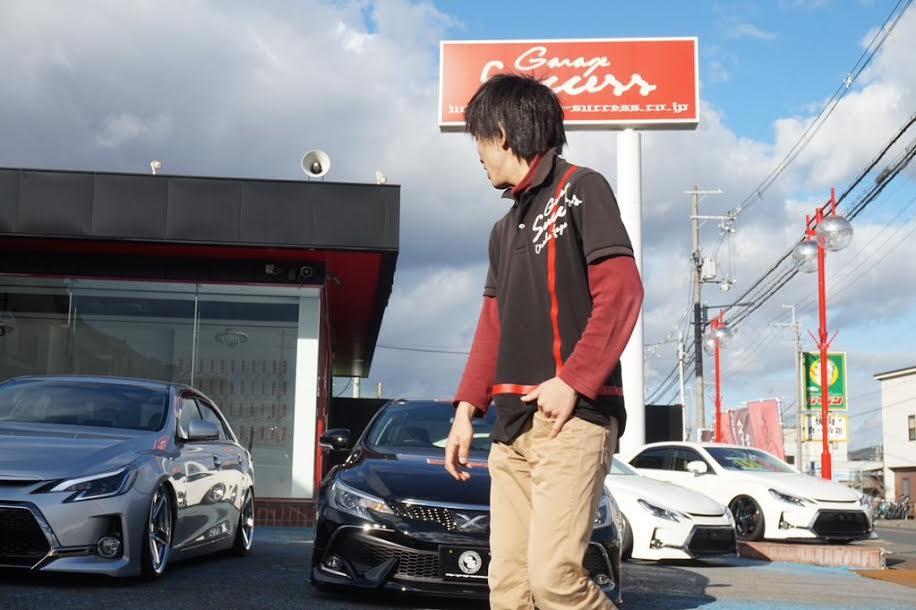 ☆Garage Success高槻店のダイキを撮影、、、。