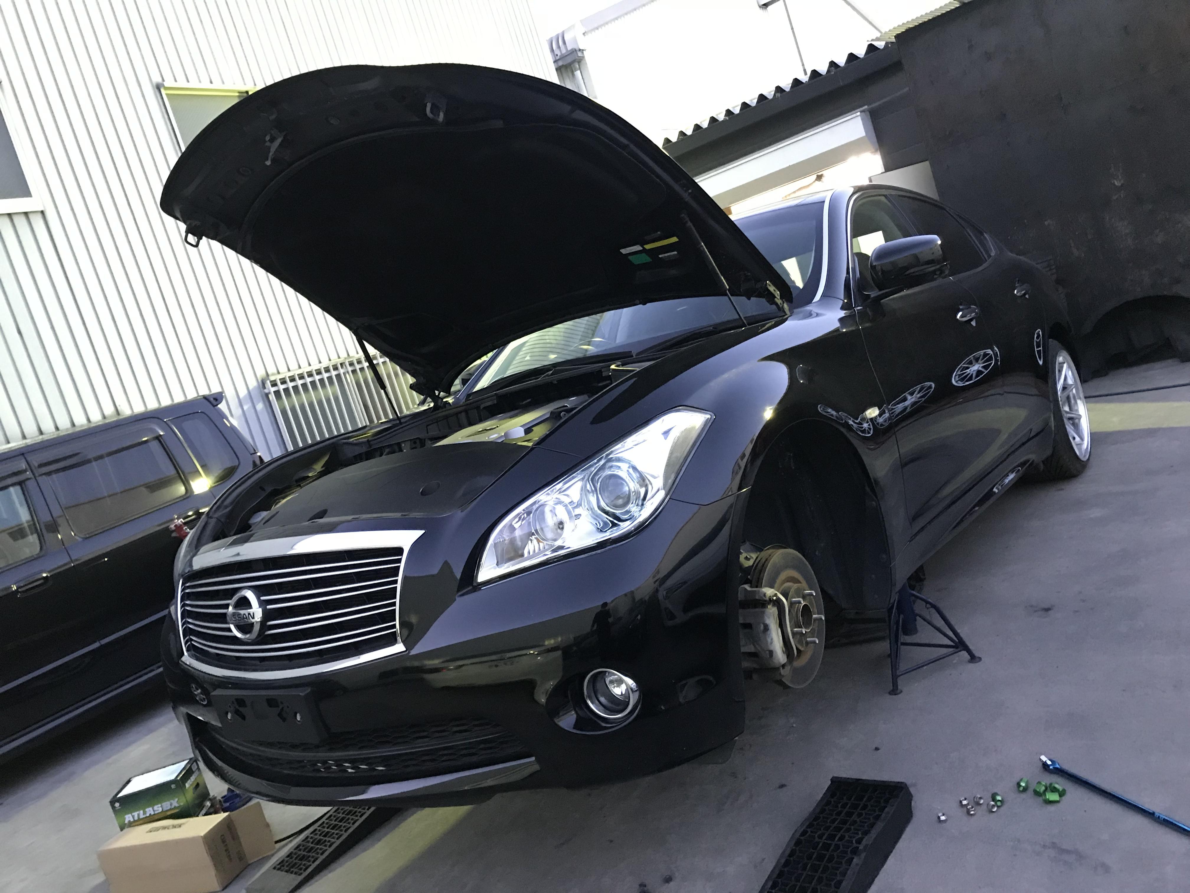 ★摂津本店★Y51フーガ納車準備!