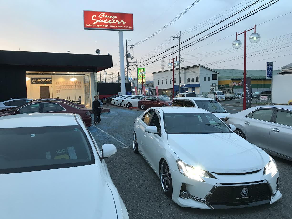 ☆GarageSuccess 高槻店☆ 本日は在庫車両の写真撮影、、、。