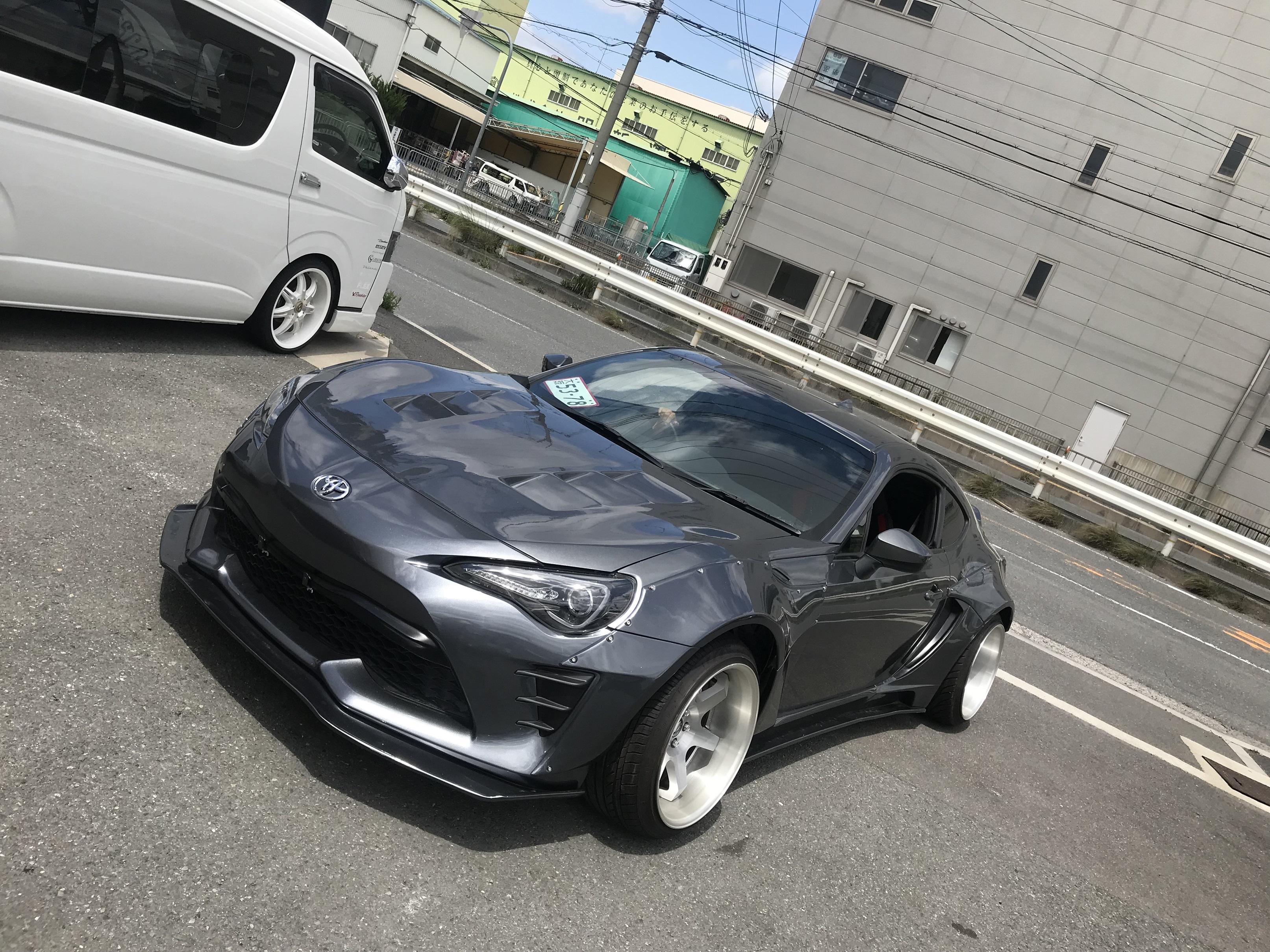 ★摂津本店★ワイドボディ86アライメント!!