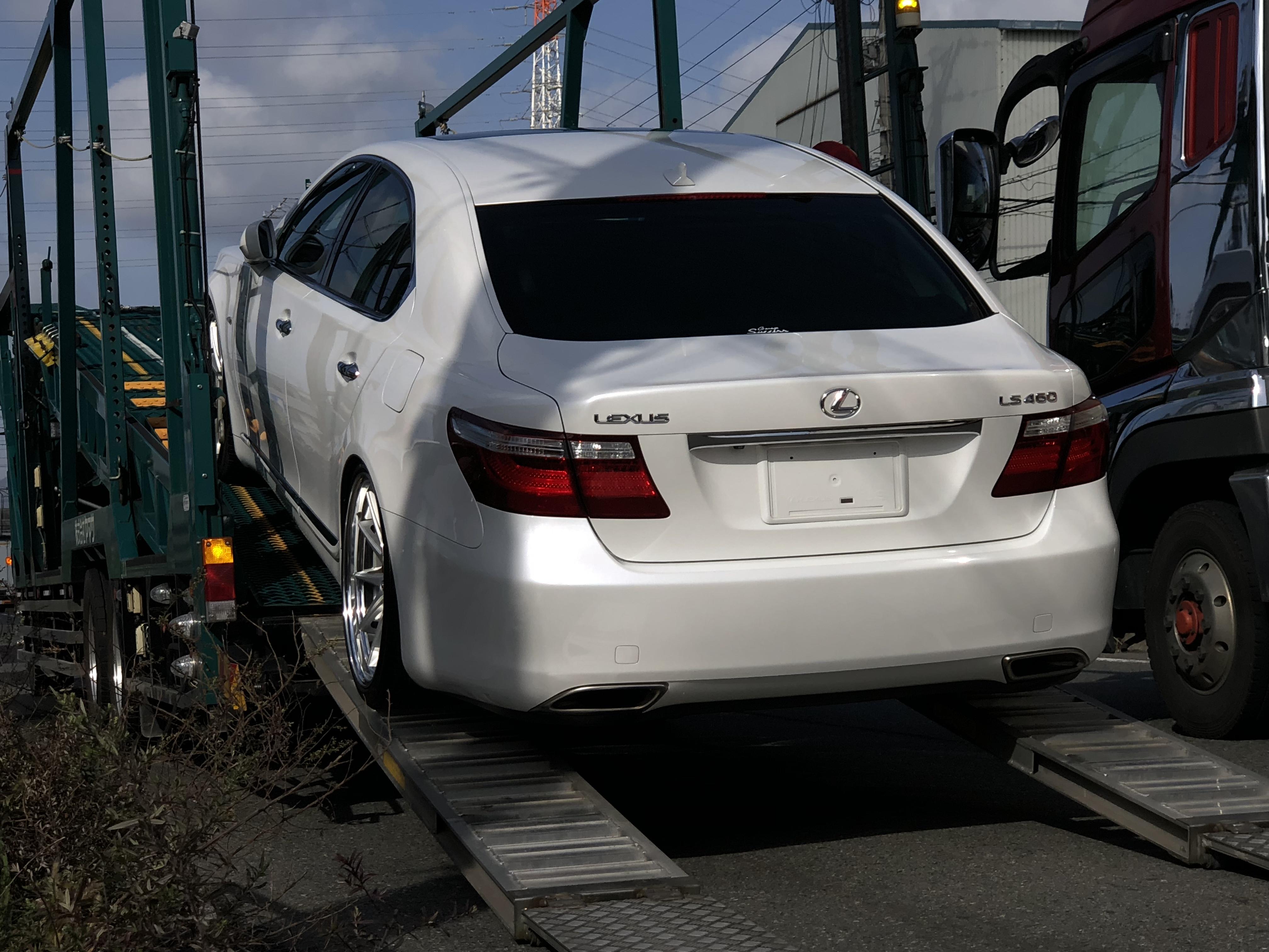 ★ガレージサクセス摂津本店★LEXUS LS460 カスタム VIPカー エアサス WORK グノーシス 21インチ