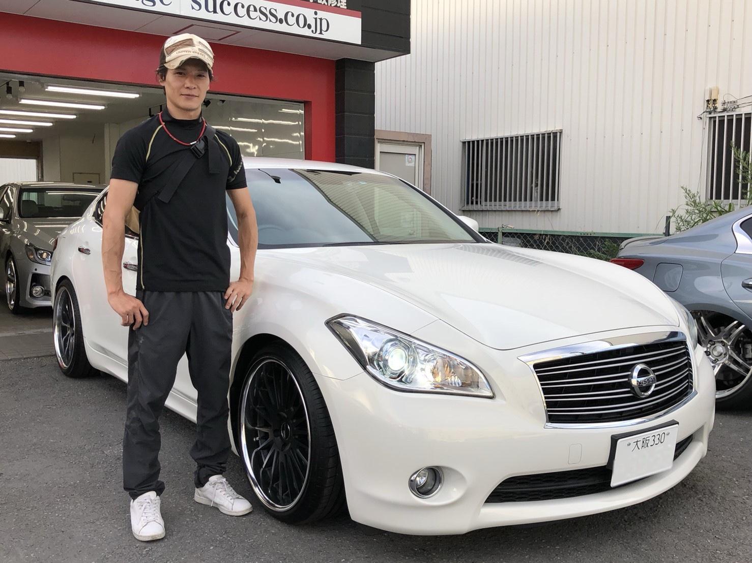 日本最大級マークX専門店★ガレージサクセス☆K様とO様のご納車完了 致しました! TEIN車高調カスタムカー G`s