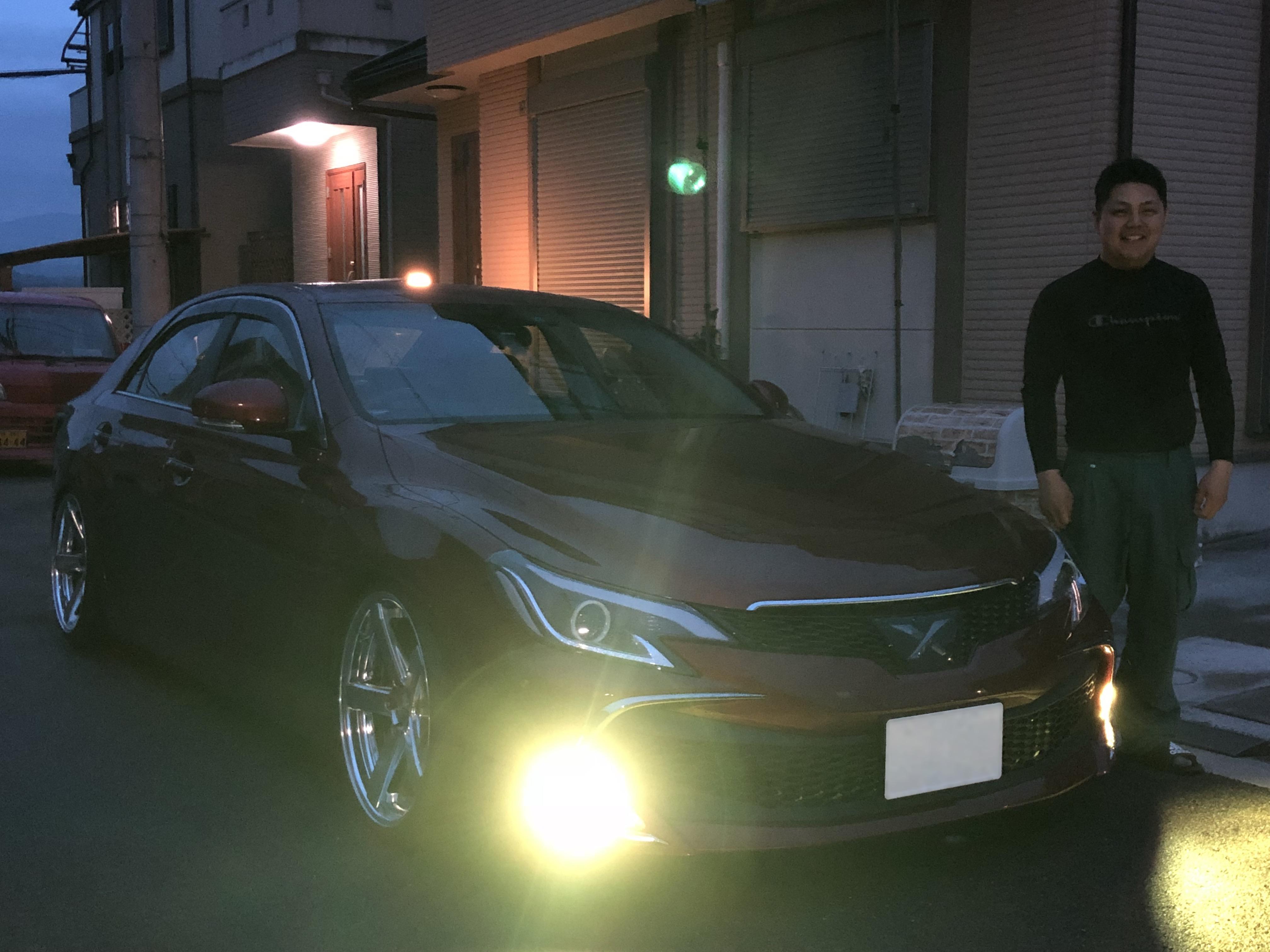 ☆大阪府よりマークXをご成約頂きましたT様です☆