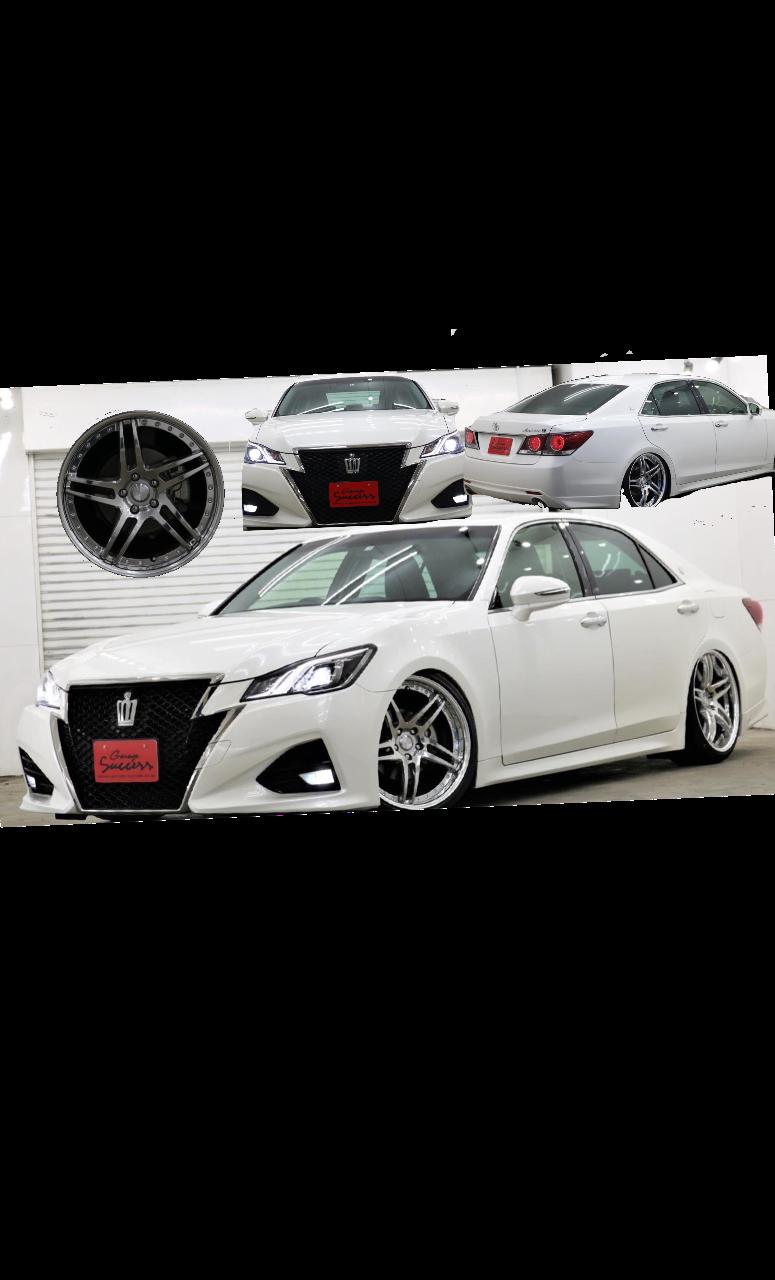 カスタムマークX クラウン専門店★ガレージサクセス★ NEW在庫車‼️後期クラウンアスリートS出来上がりました